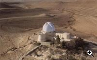The Wise Observatory in Mitzpe Ramon, in the Israeli Negev region (Credit: Wise Observatory)